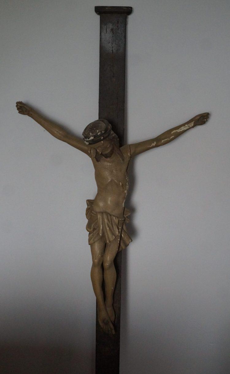 renowacja krucyfiksu, odnawianie krzyża, renowacja wroclaw, antykikr