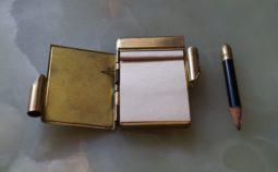 karnet, notes balowy, notesik, antykikr, antyki wrocław